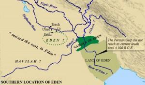 Map of Eden