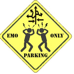Emo Parking Only