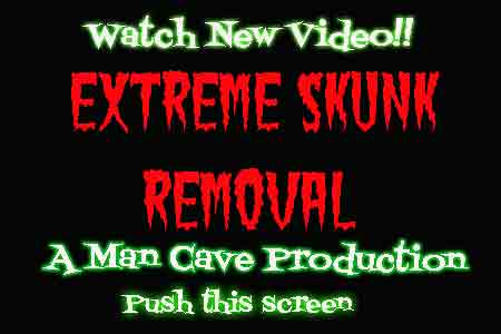 Extreme Skunk Removal video ad
